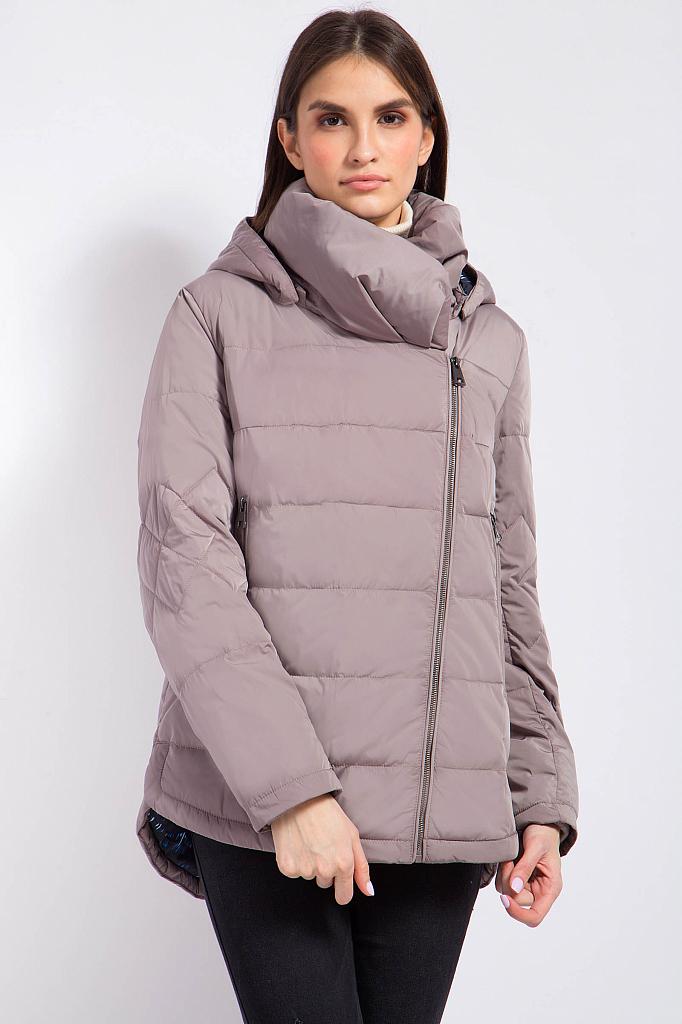 Фото 14 - Куртку женская цвет светло коричневый