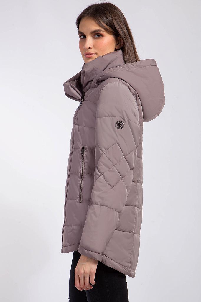 Фото 16 - Куртку женская цвет светло коричневый