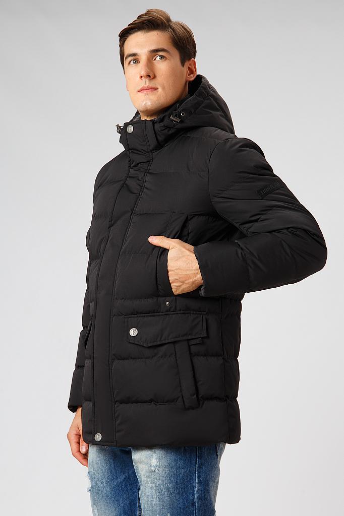 Купить Пуховик мужской черного цвета