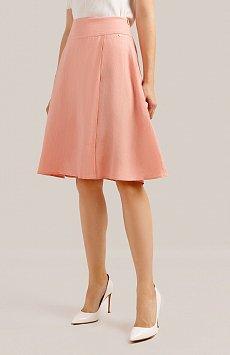 Юбка женская Finn-Flare S19-14003, цвет розовый