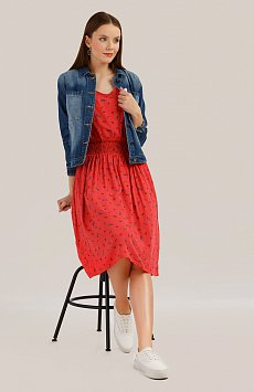 Платье женское Finn-Flare S19-32039, цвет